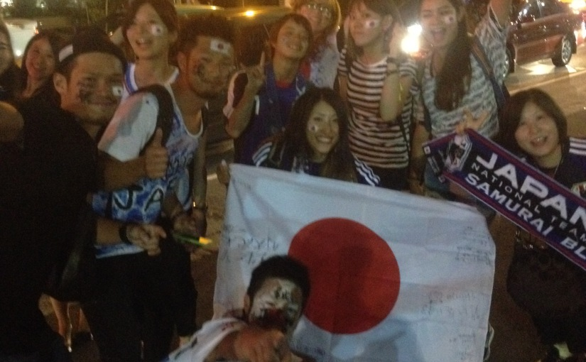 Cuando Japón entrenaba enespañol