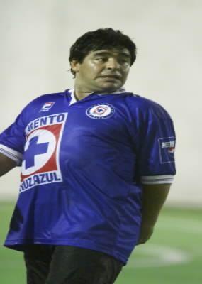 Cuando Maradona pudo sercementero